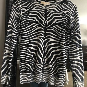 Michael Kors animal print sweater
